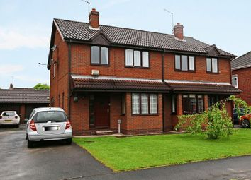 Thumbnail 3 bed semi-detached house for sale in Spencer Close, Cottingham