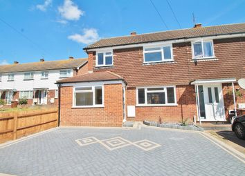 Thumbnail 3 bed end terrace house for sale in Webb Close, Hoo, Rochester