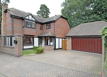 Thumbnail 5 bedroom detached house to rent in Oakdene, Sunningdale