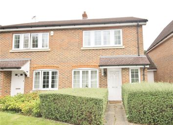 Thumbnail 3 bed end terrace house to rent in Fircroft Road, Englefield Green, Surrey