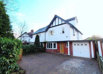 Thumbnail 4 bed semi-detached house for sale in Grange Road, Eccles, Manchester