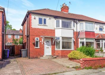 Thumbnail 3 bedroom semi-detached house for sale in Caister Avenue, Whitefield, Manchester, Greater Manchester