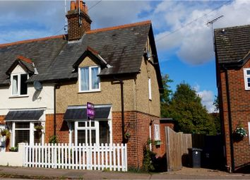 Thumbnail 2 bed end terrace house for sale in Station Road, Puckeridge, Ware