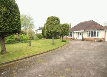 Thumbnail 4 bedroom detached bungalow for sale in Long Street, Wheaton Aston, Stafford