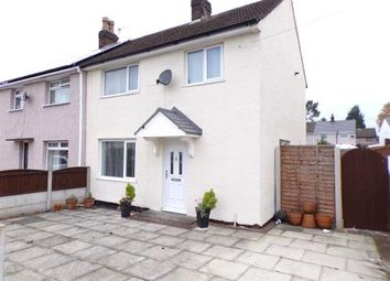 Thumbnail 3 bed semi-detached house for sale in Downway Lane, St. Helens, Merseyside, .