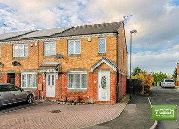 Thumbnail 3 bedroom town house for sale in Rochester Croft, Reedswood, Walsall