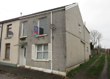 Thumbnail 3 bedroom end terrace house for sale in Field Close, Morriston, Swansea.