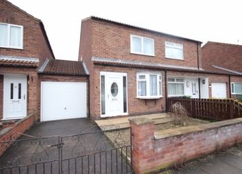 Thumbnail 2 bed semi-detached house to rent in Fourth Avenue, York