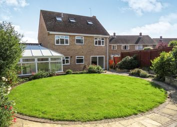 Thumbnail 5 bedroom link-detached house for sale in West End, Yaxley, Peterborough