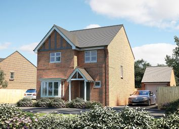 "Thumbnail 3 bedroom detached house for sale in ""The Chisbury"" at Witney Road, Kingston Bagpuize, Abingdon"