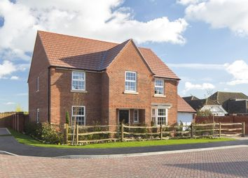 "Thumbnail 4 bed detached house for sale in ""Winstone"" at Park View, Moulton, Northampton"