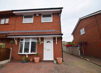 Thumbnail 3 bedroom semi-detached house for sale in Larkin Avenue, Longton, Stoke-On-Trent