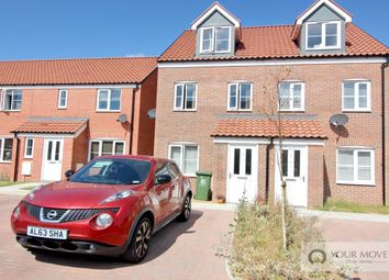 Thumbnail 3 bed semi-detached house for sale in Darnell Close, Bradwell, Great Yarmouth