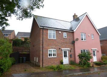 Thumbnail 3 bed semi-detached house to rent in Robert Norgate Close, Horstead, Norwich