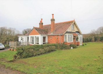 Thumbnail 4 bed detached bungalow for sale in Watermill Lane, Henleys Down, Catsfield, East Sussex