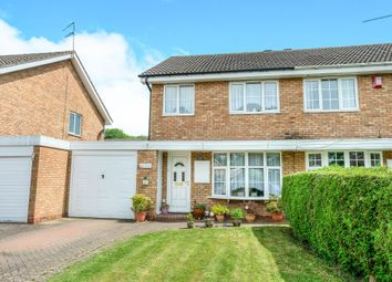 Thumbnail 3 bed semi-detached house for sale in Ledbury Close, Matchborough East, Redditch