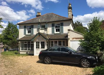Thumbnail 4 bed detached house for sale in Frensham Road, Lower Bourne, Farnham
