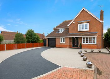 Thumbnail 4 bed detached house for sale in Quantock Court, Sleaford, Lincolnshire