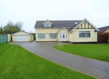 Thumbnail 4 bed detached house for sale in Drope Road, St. Georges Super Ely