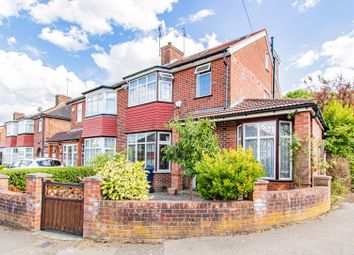 Thumbnail 4 bed semi-detached house for sale in Oakwood Crescent, Greenford