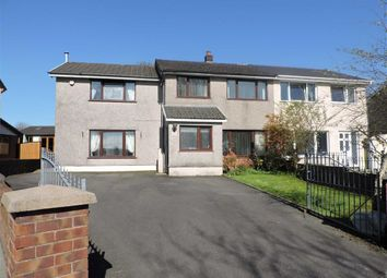 Thumbnail 4 bed semi-detached house for sale in Heol Dulais, Birchgrove, Swansea