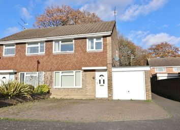 Thumbnail 3 bed semi-detached house for sale in Berry Close, Hedge End, Southampton