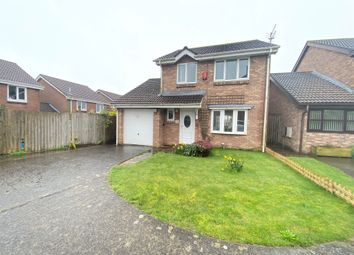 Thumbnail 3 bed detached house for sale in Blyth Close, Barry
