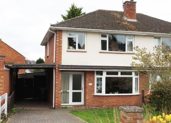 Thumbnail 3 bed semi-detached house for sale in Carless Close, Tupsley, Hereford