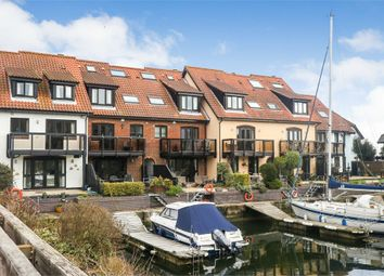 Thumbnail 4 bed town house for sale in White Heather Court, Hythe Marina Village, Hythe, Southampton, Hampshire
