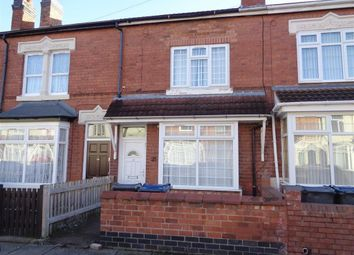 Thumbnail 3 bed terraced house for sale in Monk Road, Ward End, Birmingham