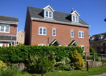 Thumbnail 4 bed semi-detached house for sale in Holmes Way, Wick, Littlehampton
