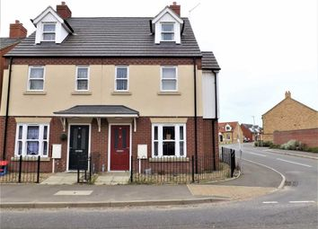 Thumbnail 4 bed town house for sale in Station Street, Holbeach, Spalding