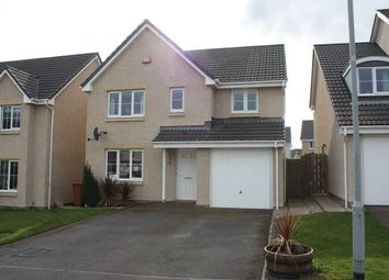 Thumbnail 4 bed detached house for sale in Dove Avenue, Elgin