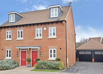 Thumbnail 3 bed semi-detached house for sale in Wells Croft, Broadbridge Heath, Horsham, West Sussex