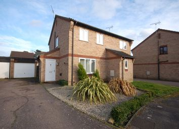 Thumbnail 2 bedroom semi-detached house for sale in Thyme Close, Thetford