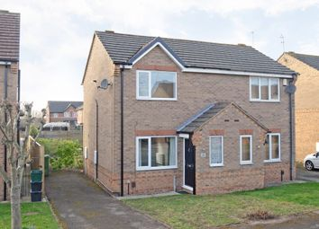 Thumbnail 2 bedroom semi-detached house to rent in Morehall Close, York