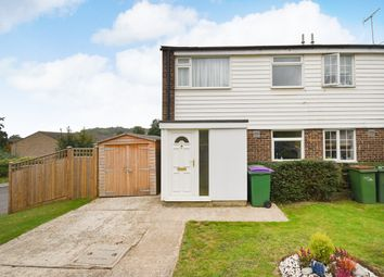 Thumbnail 3 bed semi-detached house for sale in Fremantle Road, Folkestone