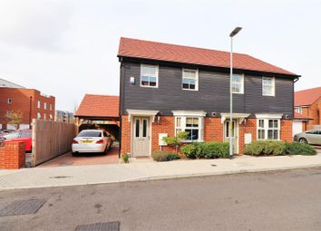 Thumbnail 3 bed semi-detached house for sale in Rosina Grove, Ebbsfleet Valley, Swanscombe