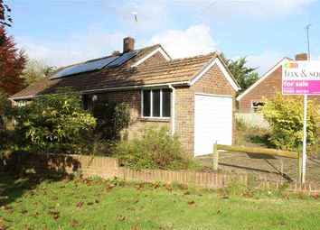Thumbnail 3 bed detached bungalow for sale in Weeke Manor Close, Winchester