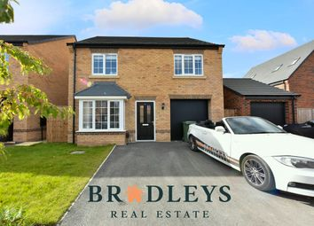 Thumbnail 4 bed detached house for sale in Oak Way, Normanton