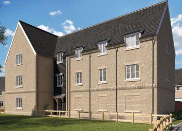 Thumbnail 2 bed flat for sale in Bury Road, Kentford