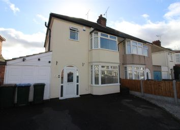Thumbnail 3 bed semi-detached house for sale in Moat Avenue, Coventry