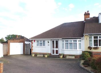 Thumbnail 2 bed semi-detached bungalow for sale in Grounds Drive, Four Oaks, Sutton Coldfield