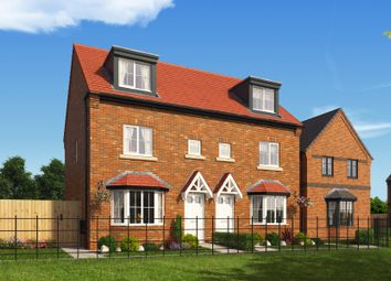 "Thumbnail 3 bed property for sale in ""The Rathmell At Woodford Grange"" at Woodford Lane West, Winsford"