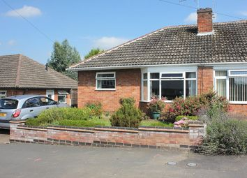 Thumbnail 2 bedroom semi-detached bungalow for sale in Avondale Road, Wigston, Leicester