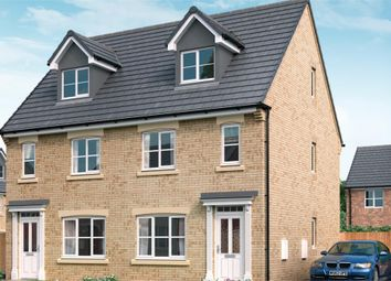 "Thumbnail 3 bedroom town house for sale in ""The Tolkien"" at Redcar Lane, Redcar"