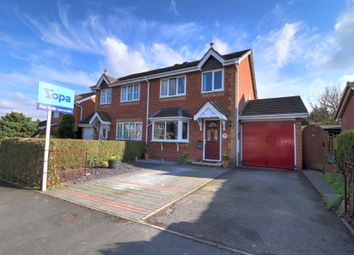 Thumbnail 3 bed semi-detached house for sale in Fitzgwarine Drive, Whittington, Oswestry
