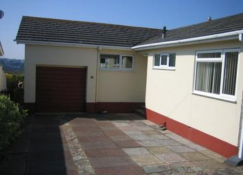 Thumbnail 3 bedroom detached bungalow to rent in Wall Park Road, Brixham