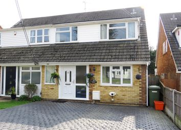 Thumbnail 4 bed semi-detached house for sale in Chestnut Avenue, Billericay