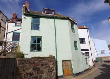 Thumbnail 3 bed detached house for sale in Slip Top, High Street, Staithes, North Yorkshire
